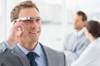 Datenbrille Google Glass