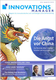 Innovationsmanager September 2013